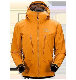 Arc'teryx - Alpha LT Jacket, Gore ProShell, вес 365 г.